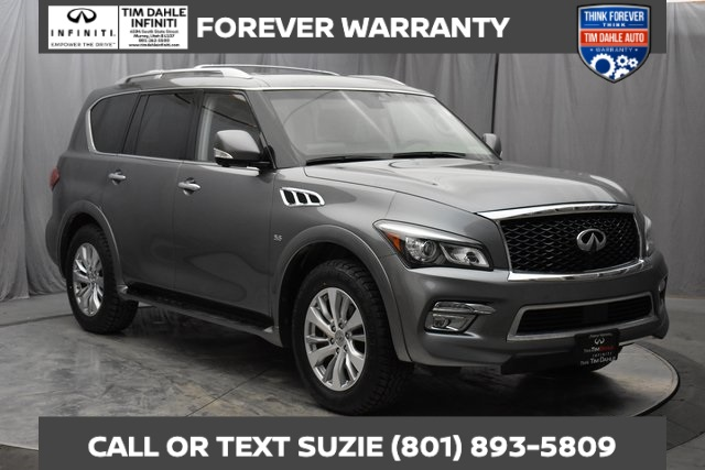 Pre-Owned 2017 INFINITI QX80 Blind Spot Warning