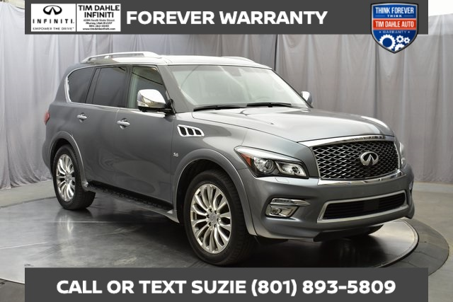 Pre-Owned 2016 INFINITI QX80 Deluxe Touring Technology Package