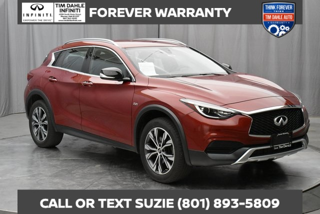 Certified Pre-Owned 2017 INFINITI QX30 Forever Warranty