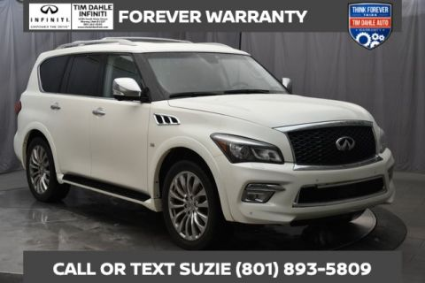 Pre-Owned 2017 INFINITI QX80 Intelligent Cruise/Blind Spot