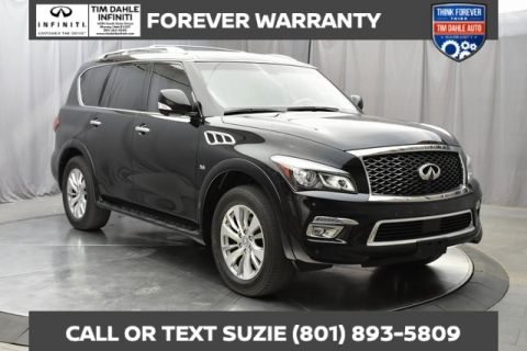 Pre-Owned 2016 INFINITI QX80 Drivers Assistance