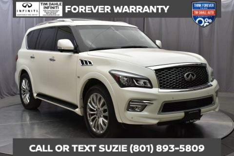 Pre-Owned 2016 INFINITI QX80 Drivers Assist